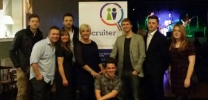 The Recruiter Group Team with Nicola Hewett from Barclays Bank